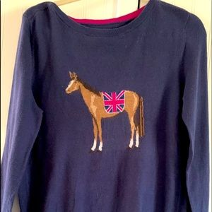 Joules rare horse sweater size 12